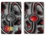 Barnes & Noble Nook Skin :: Cynic Red