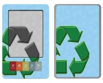 Barnes & Noble Nook Skin :: Recycle