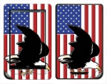 Barnes & Noble Nook Color Skin :: American Flag 2