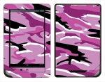 Barnes & Noble Nook Color Skin :: Camo Pink