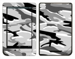 Barnes & Noble Nook Color Skin :: Camo Snow