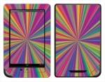Barnes & Noble Nook Color Skin :: Color Blast