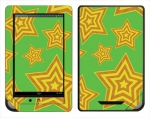 Barnes & Noble Nook Color Skin :: Falling Stars