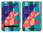 Barnes & Noble Nook Color Skin :: Geometric Blast