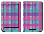Barnes & Noble Nook Color Skin :: Candy Shop Plaid