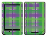 Barnes & Noble Nook Color Skin :: Punk Rock Plaid