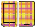 Barnes & Noble Nook Color Skin :: Sun Kissed Plaid
