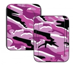 Barnes & Noble Nook Touch Skin :: Camo Pink