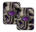 Barnes & Noble Nook Touch Skin :: Cynic Purple