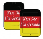 Barnes & Noble Nook Touch Skin :: Kiss Me German