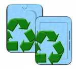 Barnes & Noble Nook Touch Skin :: Recycle