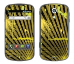 Samsung Epic Skin :: Splatter Yellow