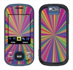 Samsung Exclaim Skin :: Color Blast