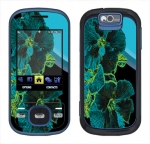Samsung Exclaim Skin :: Cosmic Flowers 2