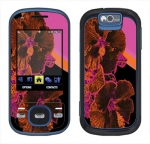 Samsung Exclaim Skin :: Cosmic Flowers 3