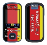 Samsung Exclaim Skin :: Kiss Me German