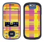 Samsung Exclaim Skin :: Sun Kissed Plaid