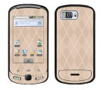 Samsung Moment Skin :: Argyle Tan