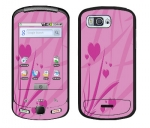 Samsung Moment Skin :: Floating Hearts