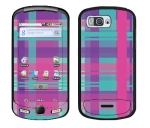 Samsung Moment Skin :: Candy Shop Plaid