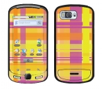 Samsung Moment Skin :: Sun Kissed Plaid