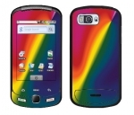 Samsung Moment Skin :: Polar Spectrum