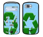 Samsung Moment Skin :: Recycle