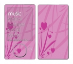 Microsoft Zune Skin :: Floating Hearts