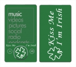 Microsoft Zune Skin :: Kiss Me Irish