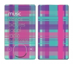 Microsoft Zune Skin :: Candy Shop Plaid