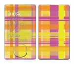 Microsoft Zune Skin :: Sun Kissed Plaid