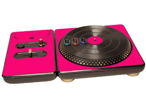 DJ Hero for the PS2, PS3, and 360 Skin :: Pink