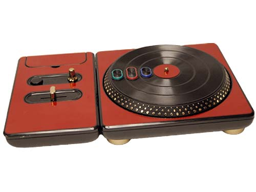 DJ Hero for the PS2, PS3, and 360 Skin :: Burgundy