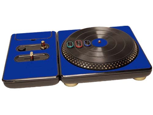 DJ Hero for the PS2, PS3, and 360 Skin :: Blue