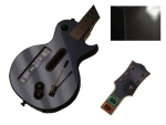 Guitar Hero 3 Les Paul Guitar for the Nintendo Wii Skin :: Black Chrome