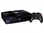Microsoft Xbox Skin :: Black Chrome