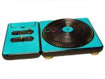DJ Hero for the PS2, PS3, and 360 Skin :: Sky Blue Chrome