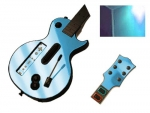 Guitar Hero 3 Les Paul Guitar for the Nintendo Wii Skin :: Sky Blue Chrome
