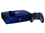 Microsoft Xbox Skin :: Blue Chrome