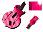 Guitar Hero 3 Les Paul Guitar for the Nintendo Wii Skin :: Pink Chrome