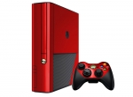 Microsoft Xbox 360 (3rd Gen) Skin :: Red Chrome