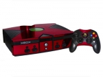 Microsoft Xbox Skin :: Red Chrome