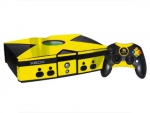 Microsoft Xbox Skin :: Yellow Chrome