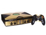 Microsoft Xbox Skin :: Brushed Gold