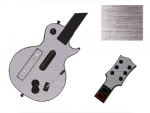 Guitar Hero 3 Les Paul Guitar for the Nintendo Wii Skin :: Brushed Silver