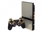 Sony PlayStation 2 Slim Skin :: Brushed Silver