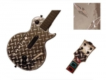 Guitar Hero 3 Les Paul Guitar for the Nintendo Wii Skin :: Diamond Plate Silver