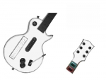 Guitar Hero 3 Les Paul Guitar for the Nintendo Wii Skin :: White