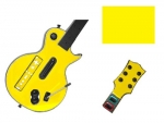 Guitar Hero 3 Les Paul Guitar for the Nintendo Wii Skin :: Yellow