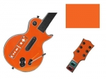 Guitar Hero 3 Les Paul Guitar for the Nintendo Wii Skin :: Orange